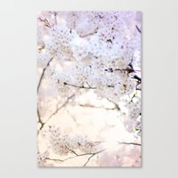 Water-colour Spring #3 Canvas Print