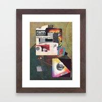 Der nächste Wagen ist ein einsam Framed Art Print