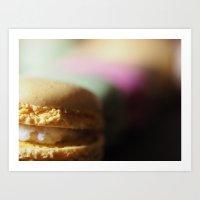 Macaron V2 Art Print