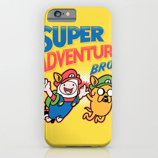 Super Adventure Bros iPhone & iPod Case