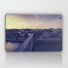 Porto across the bridge. Laptop & iPad Skin
