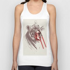 Light Saber Tooth Tiger Unisex Tank Top
