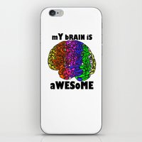 iPhone & iPod Skin featuring Awesome  :) by AstridJN