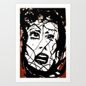 Damsel Art Print