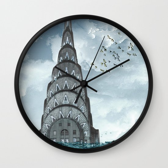 above the water line Wall Clock