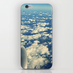 flying over mountain tops iPhone & iPod Skin
