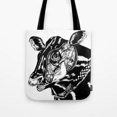 Cow Head Tote Bag