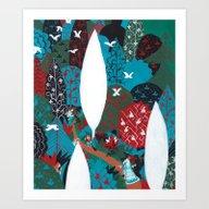 Russian Folk Tales - Tza… Art Print