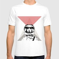 Spacewoman Mens Fitted Tee White SMALL