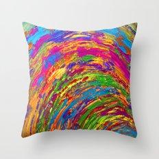Follow the Rainbow Throw Pillow