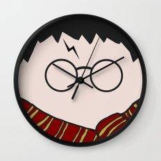 Harry Potter Minimalist Wall Clock
