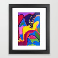 Lurking Framed Art Print