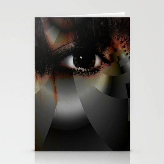 Window to the Soul Stationery Card