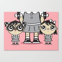 Some Girls Are Bigger Than Others Canvas Print