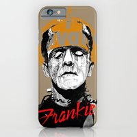 iPhone & iPod Case featuring FRANKIE by RIGOLEONART