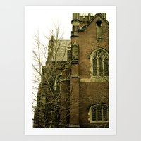 Historic Church Art Print