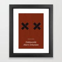 Oddworld Inhabitants' Oddworld: Abe's Odyssee Framed Art Print