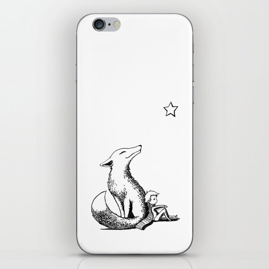 Prince and the Fox iPhone & iPod Skin