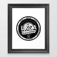 UKSA #1 Framed Art Print