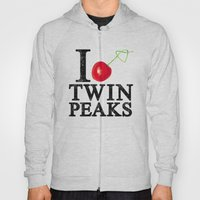 I Love Twin Peaks (Cherr… Hoody