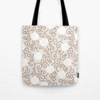 Swirls and Twirls Tote Bag