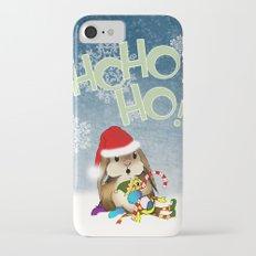 Currier & Bunnies: HO HO HO iPhone 7 Slim Case