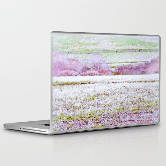 Flower Landscape Laptop & iPad Skin