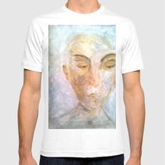 impoverished Mens Fitted Tee White SMALL