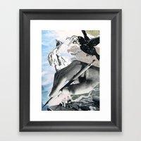 Goodbye, Hello Framed Art Print
