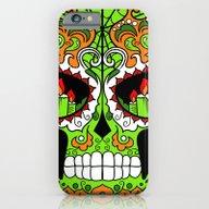 Sugar Skull #3 iPhone 6 Slim Case