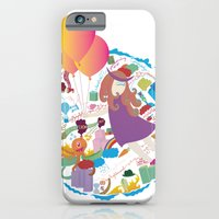 iPhone & iPod Case featuring Ambrosia with balloon by sudarshana