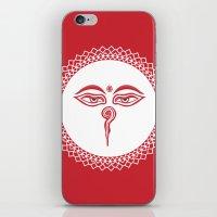 Swayambhu Eyes iPhone & iPod Skin