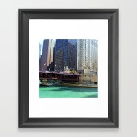 River Walk Framed Art Print