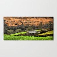 Little Barn Exmoor Canvas Print