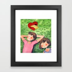 The Love Letter Framed Art Print