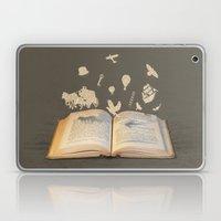 Words Take Flight (on Gr… Laptop & iPad Skin