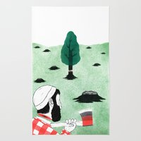 Man & Nature - The Double-Edged Relationship Rug