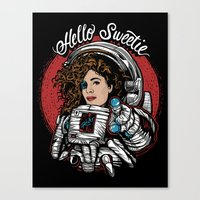 Hello Sweetie! Canvas Print