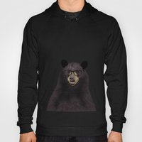 Hipster Bear Hoody