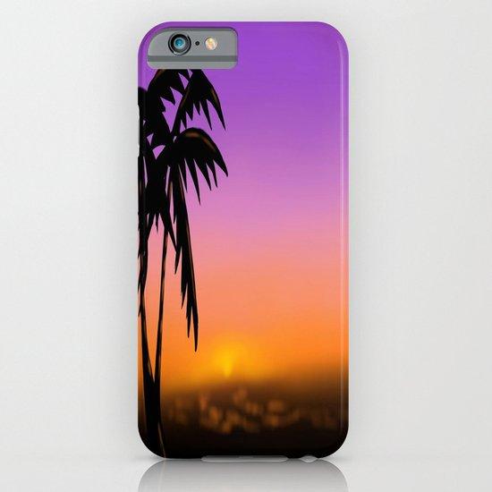 sunset iPhone & iPod Case