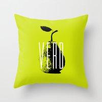 Verd Throw Pillow