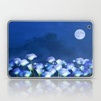 Cornflowers in the moonlight Laptop & iPad Skin