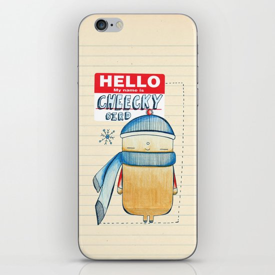 Cheeky Bird iPhone & iPod Skin