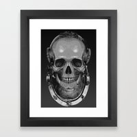 Black fathoms 2 Framed Art Print