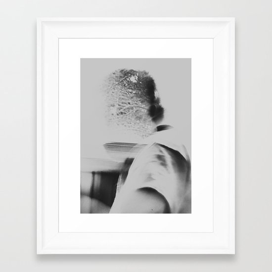 And so it begins... Framed Art Print