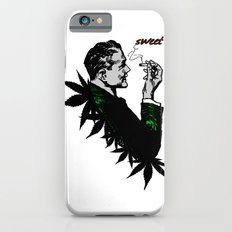 Man Smoking Pot - Weed and Politics iPhone 6s Slim Case