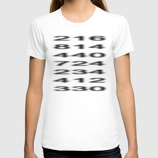 Penn-Ohio Underground - Area Codes T-shirt