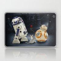 LOVE DROID & THE CAT Laptop & iPad Skin