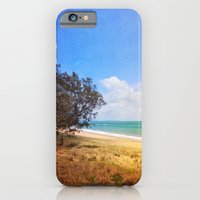 iPhone & iPod Case featuring Beautiful Day by the Sea by Wendy Townrow
