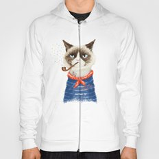 Sailor Cat V Hoody